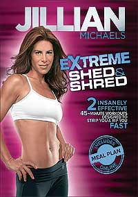 Jillian Michaels Extreme Shed Amp Shred Workout Dvd Review